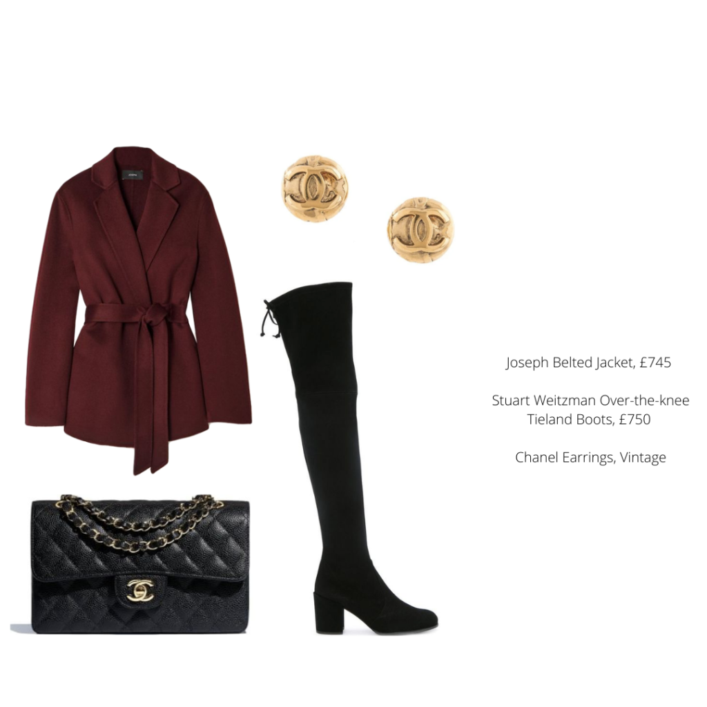 What to wear with the Chanel Classic Flap bag in Autumn/Winter